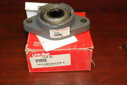 Link-belt By40946, 11/16 Hex 2-bolt Flange Bearing New In Box