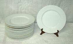 Dansk All White Bamboo Pattern 12 Round Chop Plate Platter Discontinued