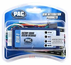 Pac Aoem-gm21a Radio Amplifier Integration Interface For Gmc Cadillac Chevrolet