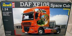 Revell Ag 1/24 Daf Xf105 Space Cab Single Axle Co Truck