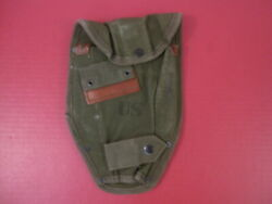 Vietnam Us Army M1956 Entrenching Tool Or Shovel Canvas Carrier Cover 1960and039s 1