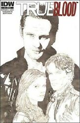 110 Sketch Variant True Blood Ongoing 1 1st Print Idw Comic Hbo Tv Alan Ball