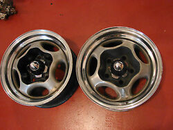 Spyder Motor Wheels 14x6 5 Bolt Circle Chevrolet Impala Truck Bonneville Olds
