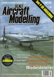 Scale Aircraft Modelling V19 N11 Bell P-39 Airacobra Stormovik Uh-60 Black Hawk