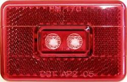 New Anderson Red Led Clearance Light And V170r