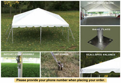20and039x20and039 Classic Frame Party Tent West Coast For Wedding Catering Outdoor Event