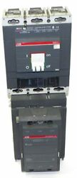 Abb Af460w-30 Welding Isolation Contactor Af460 W/ Sace S6 Circuit Breaker