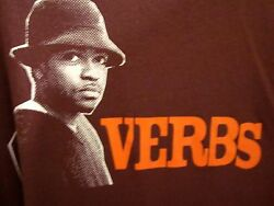VERBS Christian rap tee XL Knowdaverbs hip hop T shirt Unlocked 2003 Grits OG