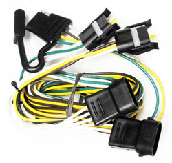 Fulton Quik-t Trailer Wiring Connector Ford Van F150 Lincoln Mercury