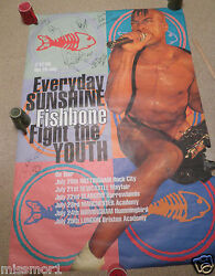 Vintage Giant Fishbone Band Sexy Poster 39.5x60 Autographed Everyday Sunshine