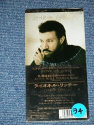 Lionel Richie Japan Only 1992 Tall 3 Cd Single Love Oh Love