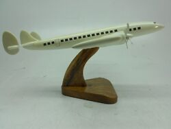 Lockheed L-1049-g Super Constellation Airliner Aircraft Wood Model Free Shipping