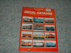 Walthers Decals Ho O Gauge 1985 Catalog  176 Pages
