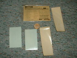 Walthers Decals O Gauge Freiight Nalco Caboose White G36