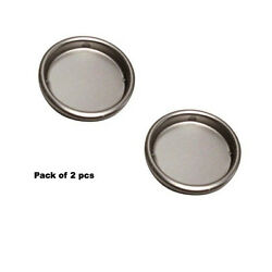 2 pcs SATIN NICKEL 2 1 8quot; Pocket Door Bypass Closet Doors Flush cup Finger Pulls