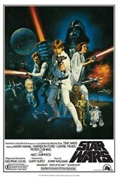 Star Wars Poster Group Cast Rare Hot New 24x36