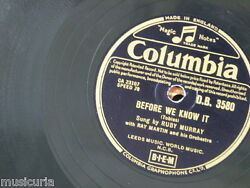 78rpm Ruby Murray Before We Know It / If Anyone Finds This I Love You
