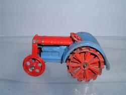 Dinky Toys 22e Farm Tractor In Well Used New Front Wheels Rare See Pics