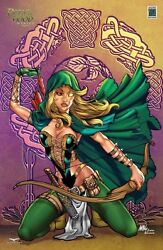 Grimm Fairy Tales Robyn Hood Wanted 4 Cs Moore Nice Exclusive Nm+ Or Better