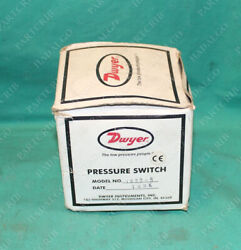 Dwyer, 1823-5, Differential Pressure Switch Sensor 10psi New