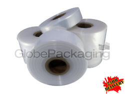 Quality Polythene Plastic Layflat Tubing Rolls All Sizes/qtyand039s 250 And 500 Gauge