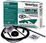 New Boat Steering System Complete 14and039 Q/c Teleflex Safe T Ss13714