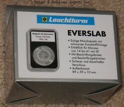 5 Lighthouse Everslab 27mm Graded Coin Slabs 1/2 Oz Gold American Eagle Holders