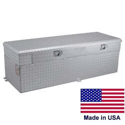 Commercial 60 Gallon Auxiliary Tank And Toolbox - 55 X 20 X 22andfrac34 - 6 And 8 Ft Beds