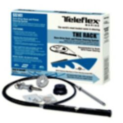 New Teleflex Oem Rack And Pinion Boat Steering System 15and039 Tel Ss14115
