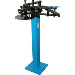 Industrial Tube And Pipe Bender - 2 Round Or 1 1/2 Square Tubing - Commercial