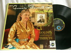 Connie Boswell Sings Irving Berlin Design Stereo Dg Lp Mundell Lowe Connee
