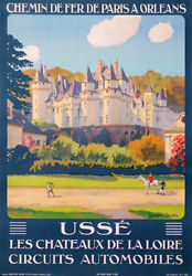 Usse Castles Of Loire In France Circuits Automobiles Constant Duval 1928