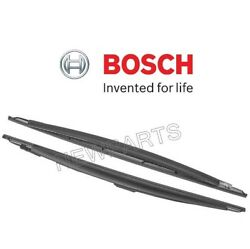 Left & Right 2 BOSCH Windshield Washer Wiper Blade Set For BMW 7 Series
