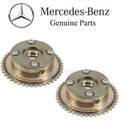 For Mercedes W203 C230 Super 03-05 Intake And Exhaust Camshaft Adjusters Set Oes