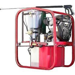 Hot Water Pressure Washer - Gas - 3000 PSI - Diesel Heated - 12V - 4.8 GPM - 1PH