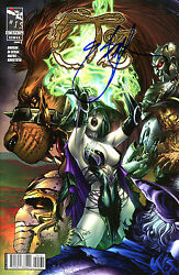 Grimm Fairy Tales Oz 1 Variant Edition Signed By Artist Eric Basaldua C