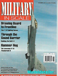 Military In Scale N97 F-16 Fighting Falcon Bell X-1 A-10 Thunderbolt F-117 Usaf