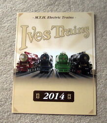 2014 Ives Mth Tinplate Flyer Mint