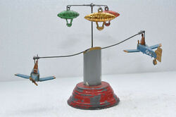 rare early wind up airplane zeppelin