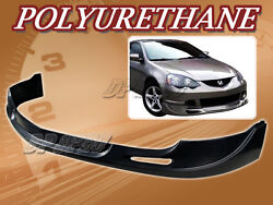 For 02-04 Acura Rsx Dc5 T-c Poly Urethane Pu Front Bumper Lip Spoiler Body Kit