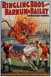 6978.ringling Bros And Barnum And Bailey Combined Shows.poster.art Wall Decor