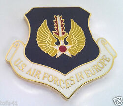 Us Air Forces In Europe Beret Badge Large 1-1/2 Us Air Force Pin 16324 Ho