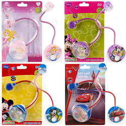 Disney Clip On Led Reading Book Flexible Neck Light Lamp Under Cover Torch Night
