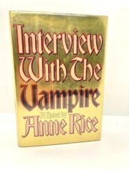 Interview With The Vampire By Anne Rice Signedfirst Ed