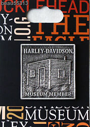 Harley Davidson 76 Of Only 250 Shed Museum Members Vest Jacket Pin
