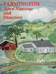 Farmington Maine Me Town Almanac And Directory 1985 Telephone Numbers/businesses
