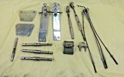 Stainless Steel Marine Linkage Mounts And Plates 1972 Oand039day Oand039day Sailboat