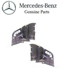 Mercedes R129 Set of Left & Right Partition Panels Between Wheel Housing Genuine