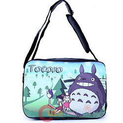 My Neighbor Totoro Messenger Bag Fuax Leather Shoulder Body Cross Bag $29.99