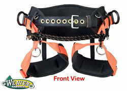 Weaver Tree Climbing Saddle WLC-760 Comfortable Design Packed w High Features